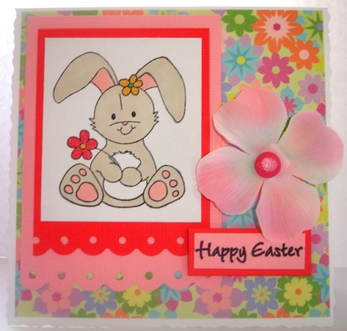 Easter Bunny Pink sml