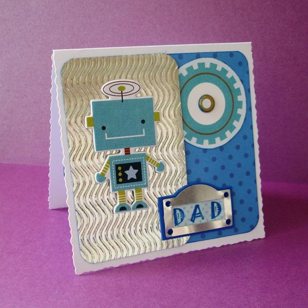 Robot card angle